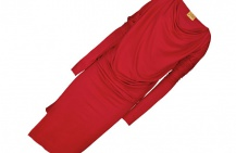 Красное платье. С чем носить