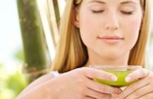 Разгрузочный день на зеленом чае