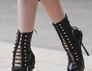 Модные тренды обуви 2012