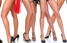 Как визуально сделать ноги стройнее