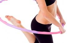 Как похудеть с помощью обруча?