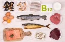 Продукты, содержащие витамин В12