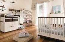 Детская комната для новорожденного.