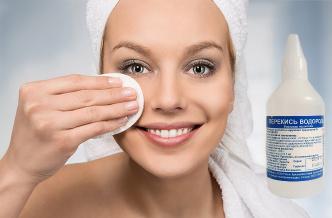 Можно ли избавиться от морщин на лице при помощи перекиси водорода