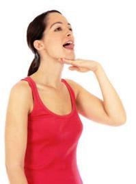 Упражнения для похудения лица