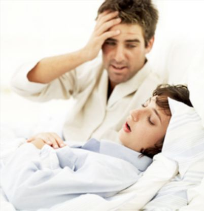 Затруднение дыхание храп у ребенка
