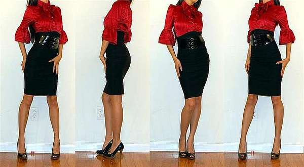 Юбка карандаш - тренд сезона 2010 Мода на сороковые года диктует стиль...