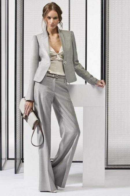 Брючный костюм деловой женский