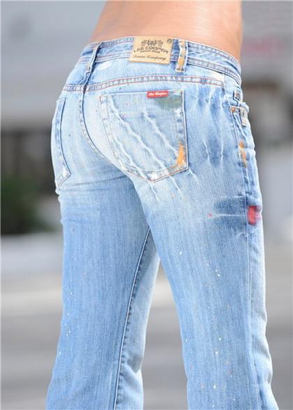 Купить женские брюки джинсы taya