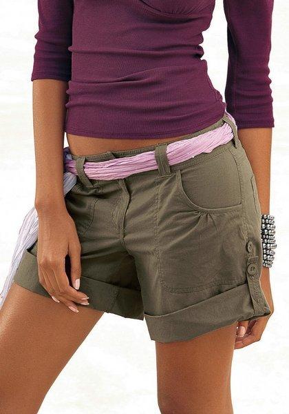 спортивные женские шорты выкройка
