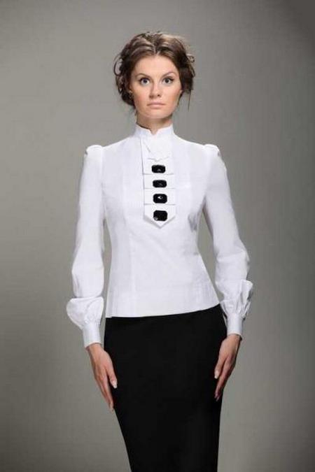 Белые Блузки Для Офиса В Самаре
