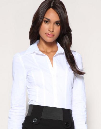 белые летние блузки из хлопка