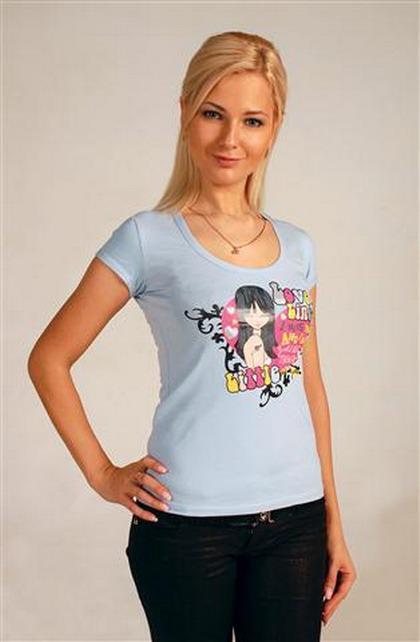 женские футболки v образный ворот - майка в подарок.