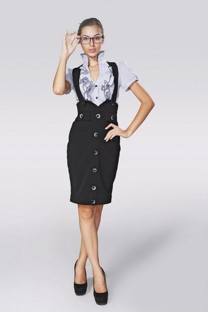 Модный портал. деловые сарафаны для офиса - Все о моде
