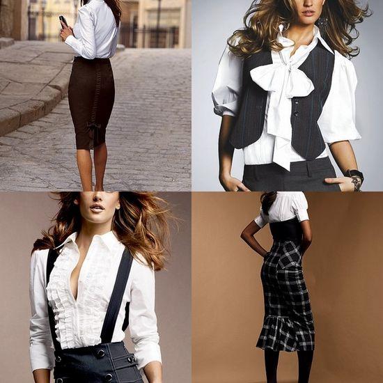 Одежда современной деловой женщины , мода