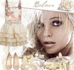Романтический стиль одежды считается одним из главных претендентов на...