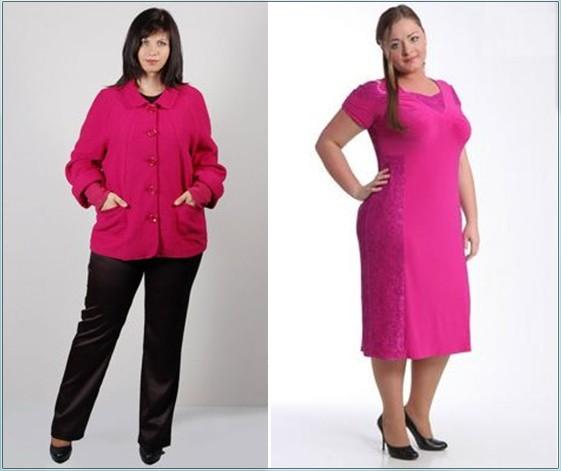 Главная мода и стиль платья для полных