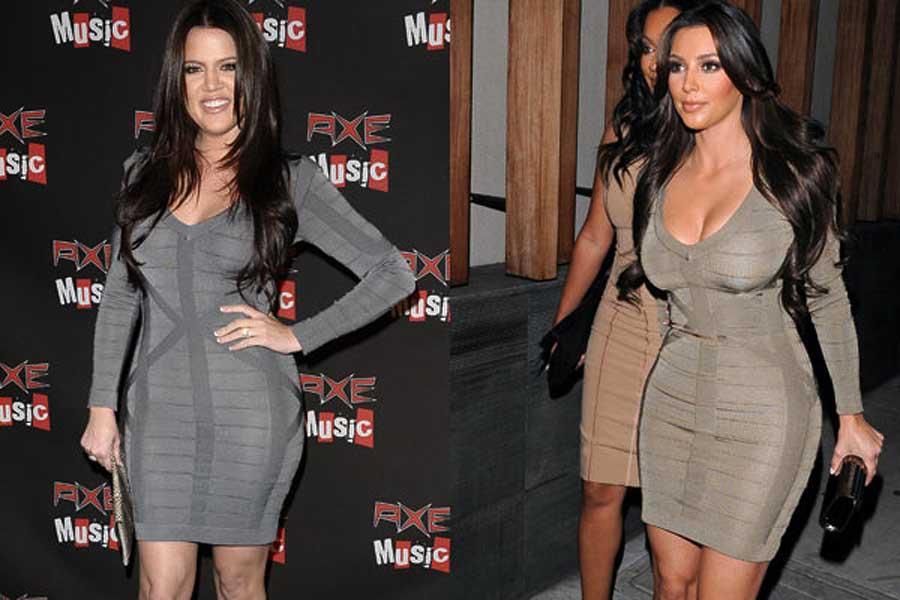 Оптический эффект платье