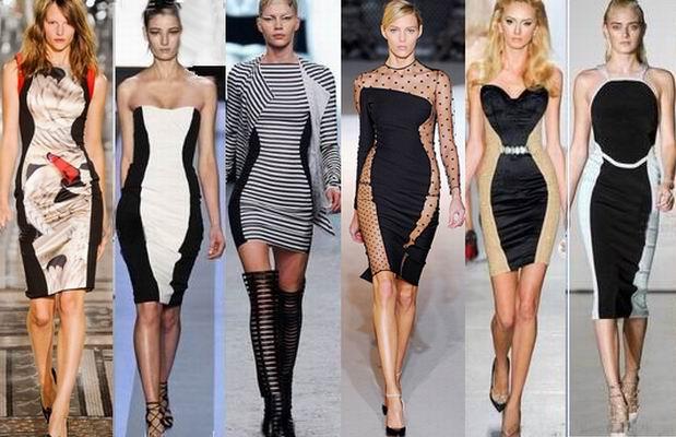 Платья уменьшающие фигуру