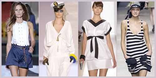 Истоки морского стиля в одежде относятся еще ко второй