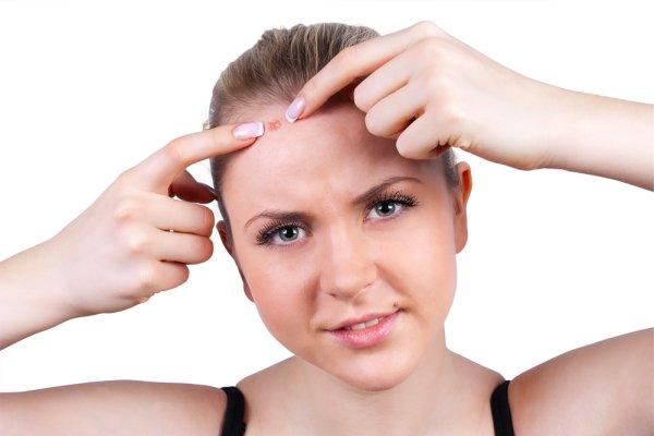Аллергия на лице сыпь