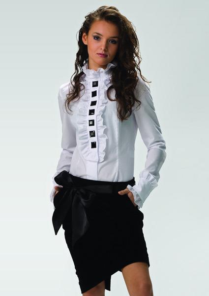 Купить белую блузку недорого с доставкой