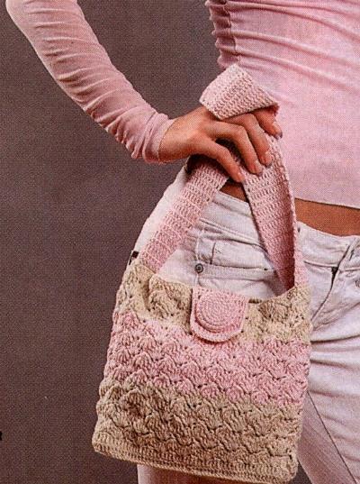 Вязанные сумки 2011 (ФОТО): сумки ручной