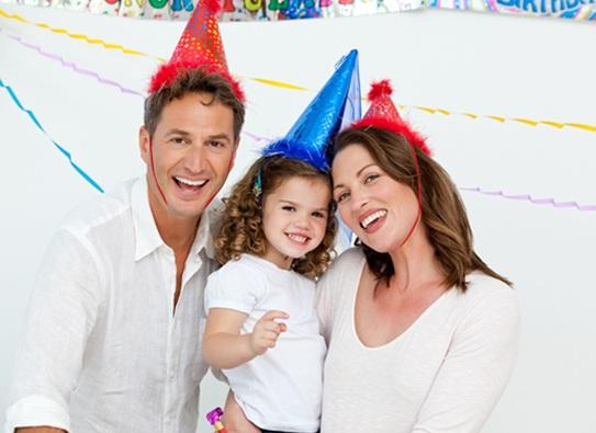 Отметить день рождения ребёнка недорого