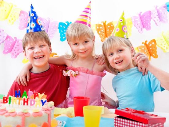 Отметить детский день рождения