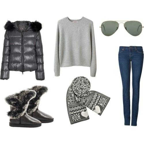 Комплект модной зимней одежды 2013 | Что модно