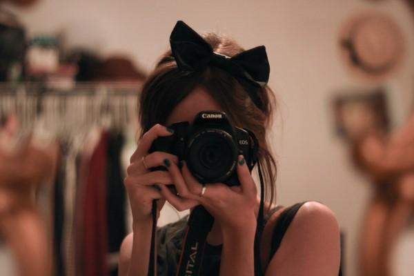 фото в себя в зеркале