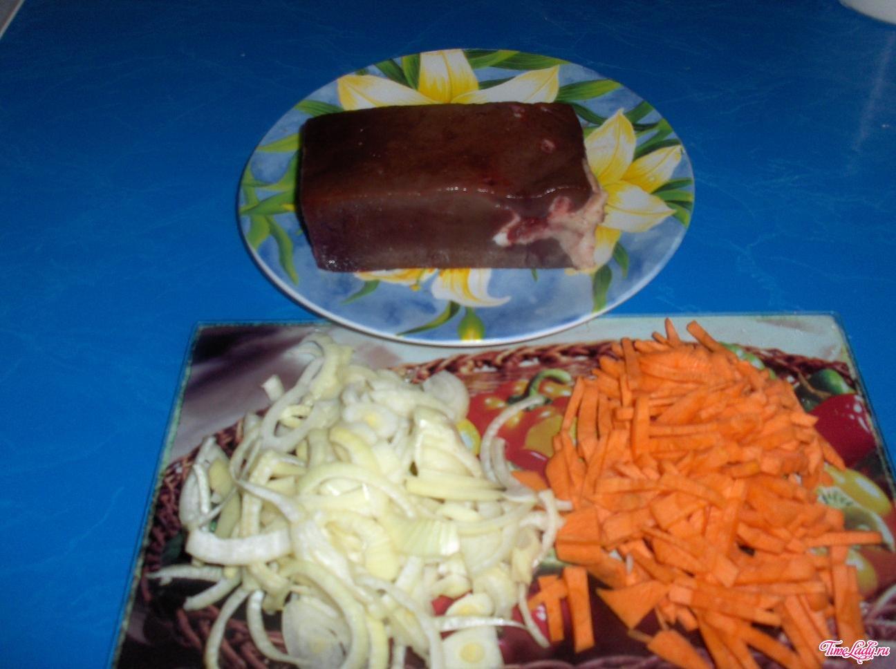 Свиная печень как приготовить вкусно