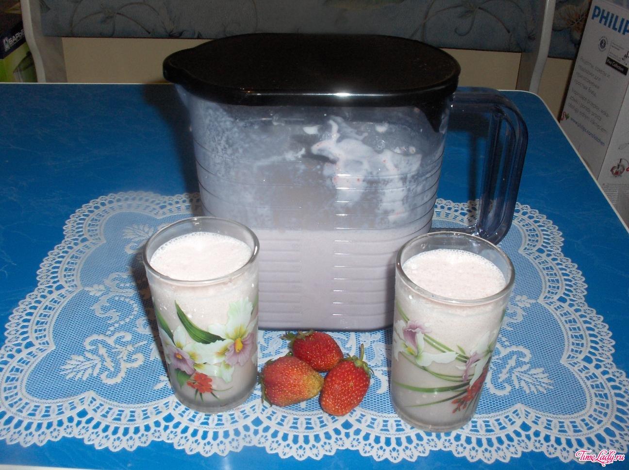 Как сделать молочный коктейль гуще 37