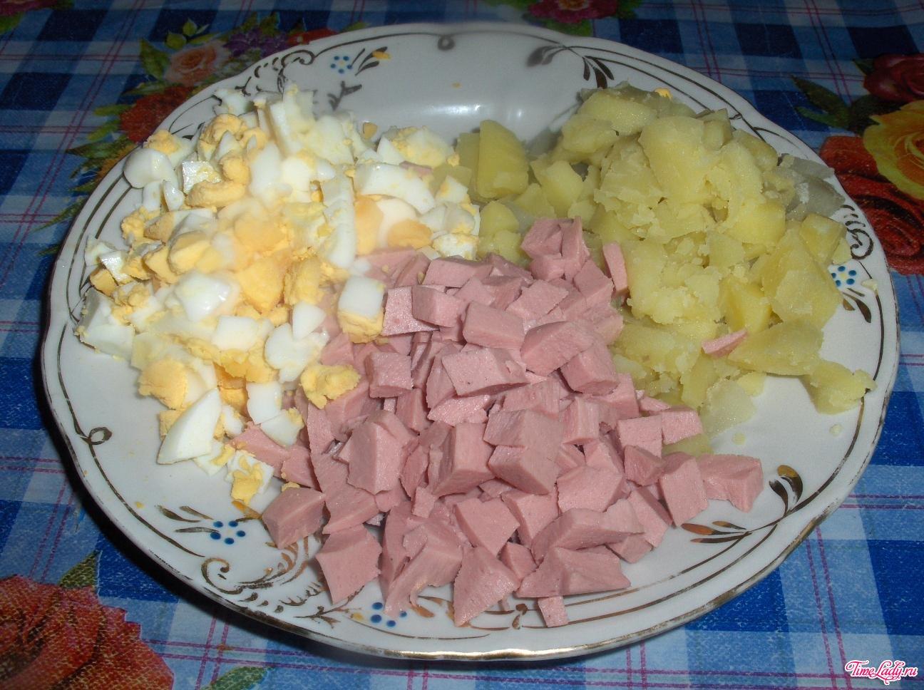 Рецепт вкусной окрошки пошагово