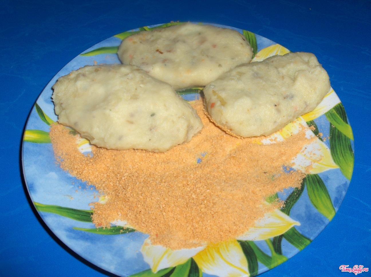 Картофельные пирожки с начинкой рецепт с фото
