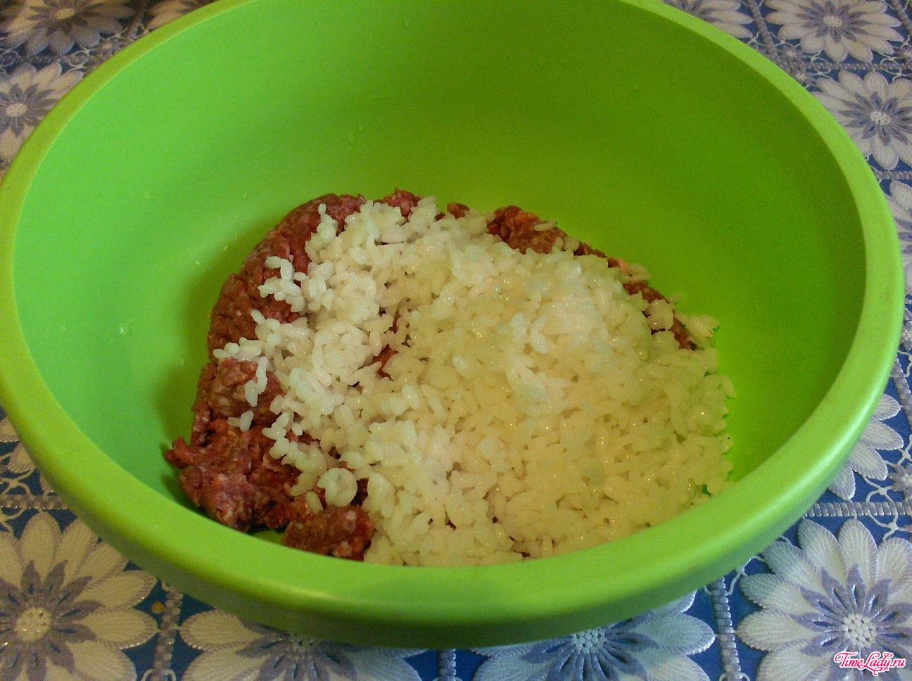 Рецепт фаршированного перца с рисом и овощами