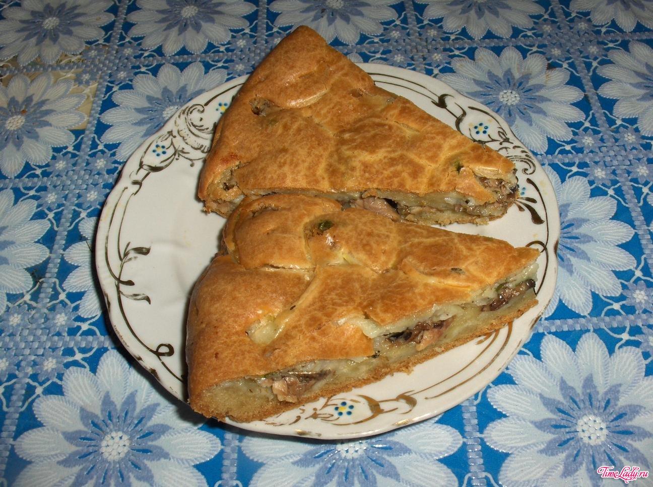 Рыбный пирог из сайры рецепт быстро 33