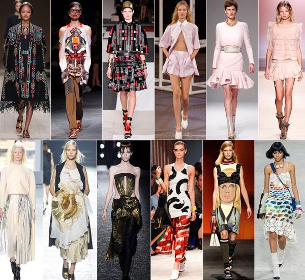 Основные тенденции моды 2014 года