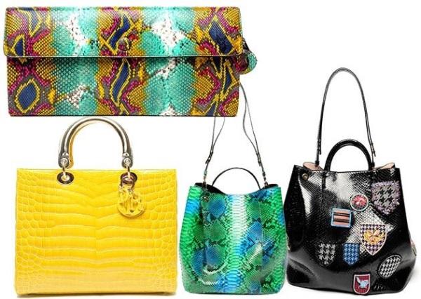 Модные сумки весна-лето 2014 года (фото + описание трендов)