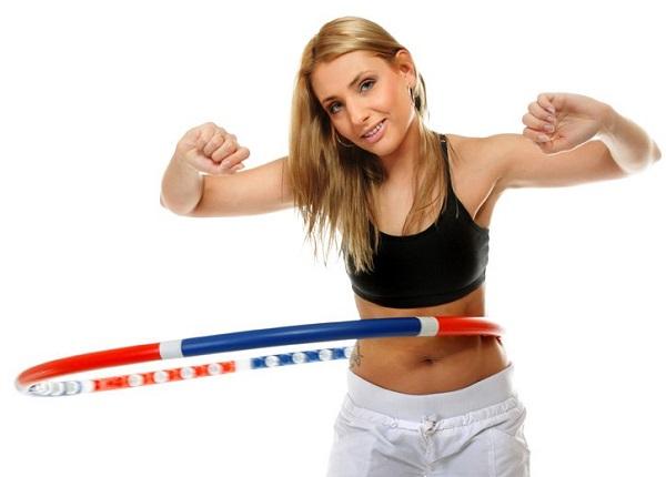 как похудеть с обручем сделай талию