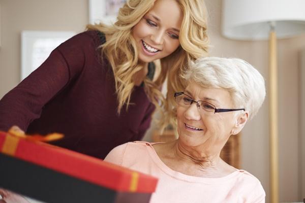 Сюрприз от внучки