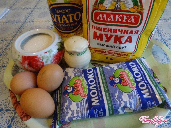 Блины — Кулинарные рецепты любящей жены