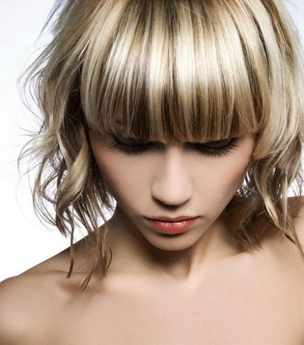 Милировка на светлые волосы в домашних условиях