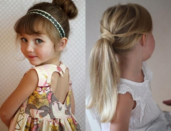 Детские прически на тонкий волос фото