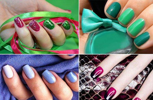 8 вариант украшения ногтей по фен-шуй