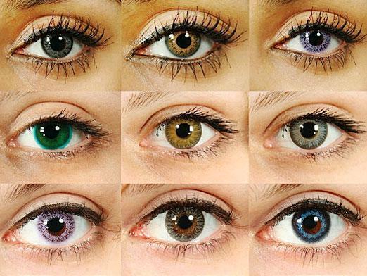Способ изменения цвета глаз