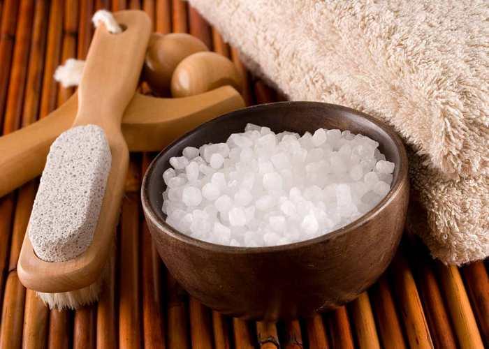 Как сделать ванночки с морской солью 12