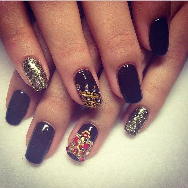 Короны на ногти