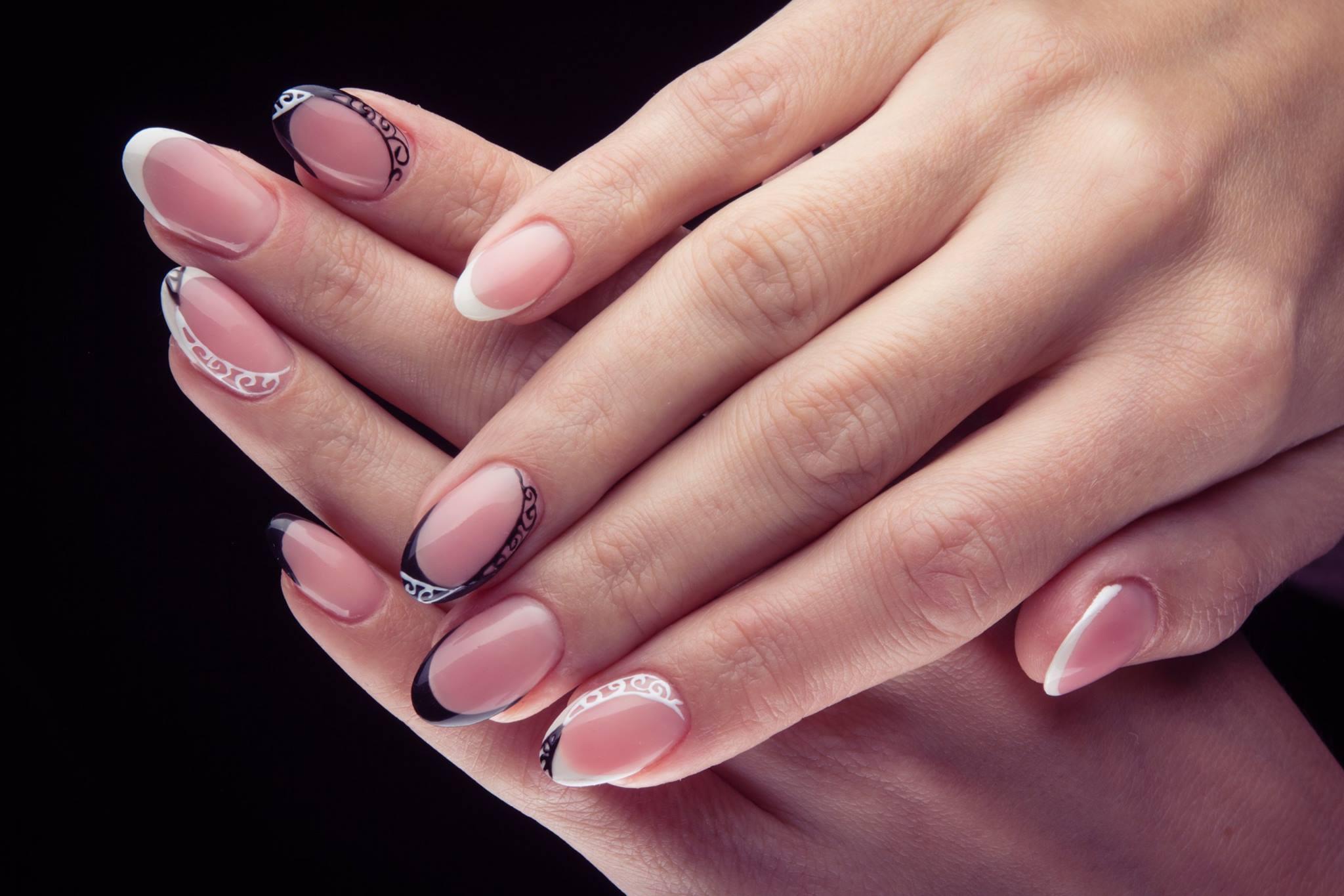 2 вариант длины ногтей