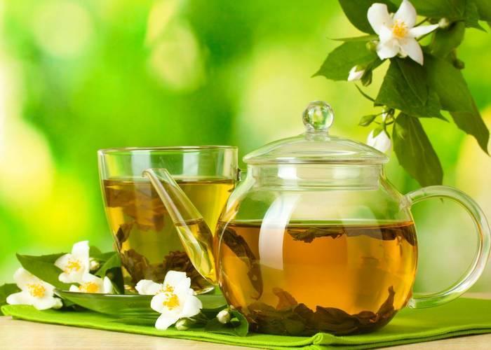 Вид зеленого чая